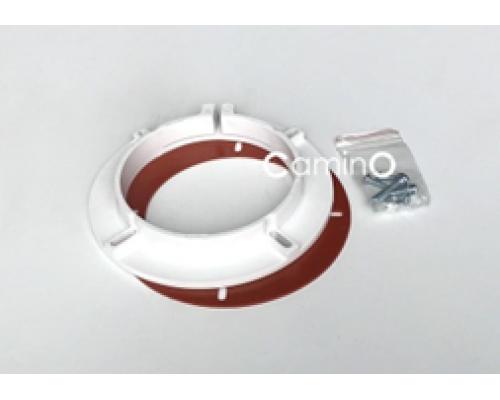 Фланец пластиковый Ø100 в комплекте с винтами