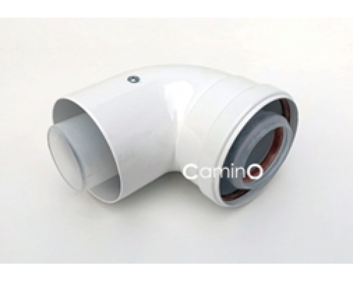Угол 90° Ø80/125mm Condensing  (м-п)