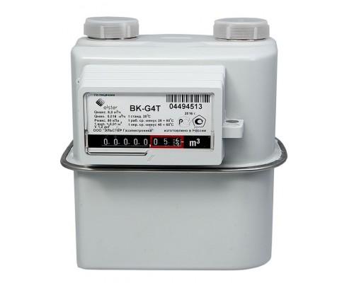 Счетчик газа Elster ВК-G 4Т (2л) левый 25см